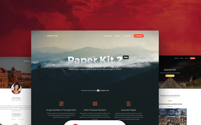 Paper Kit 2 PRO Angular by Creative Tim template