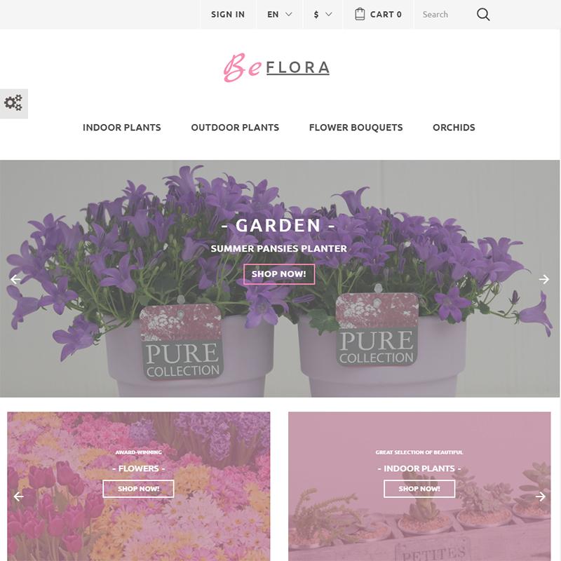 Flower Shop PrestaShop Template