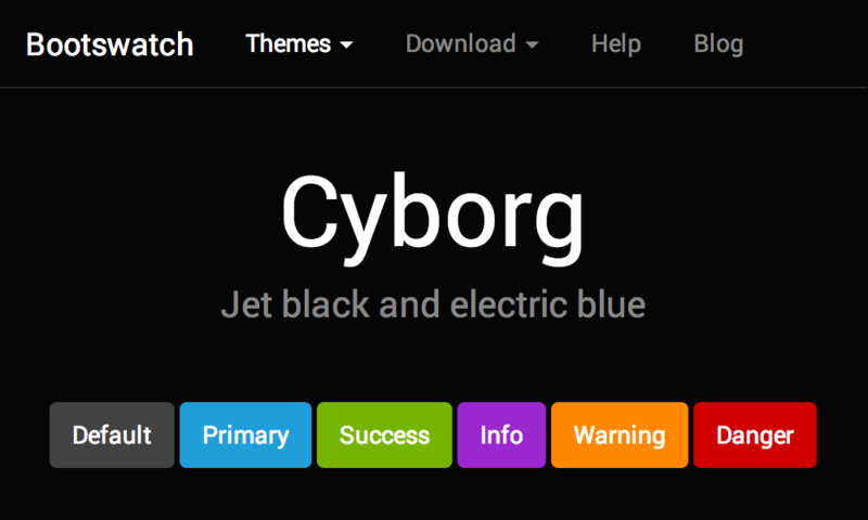 Image for Cyborg Theme