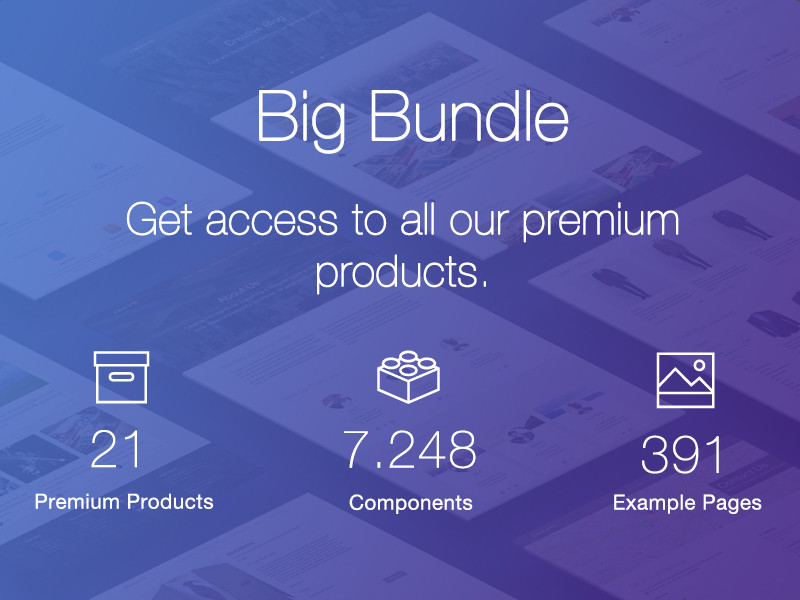 Image for Big Bundle by Creative Tim