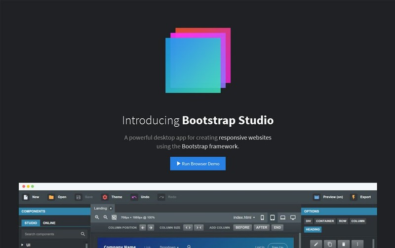 Top 5 Bootstrap Editors