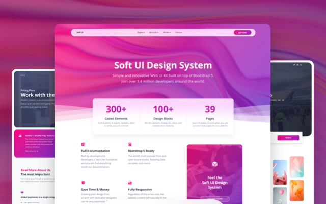 Thumbnail of Soft UI Design System PRO by Creative Tim