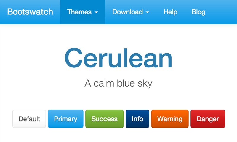 Image for Cerulean Theme