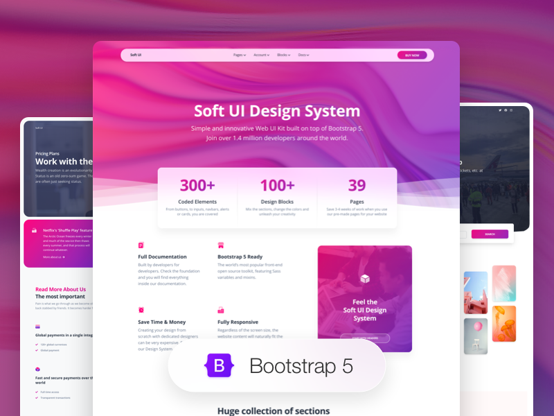 Image for Soft UI Design System PRO by Creative Tim