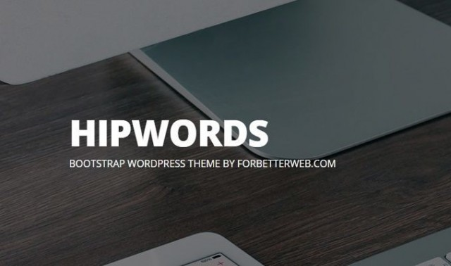 HipWords WordPress Theme template