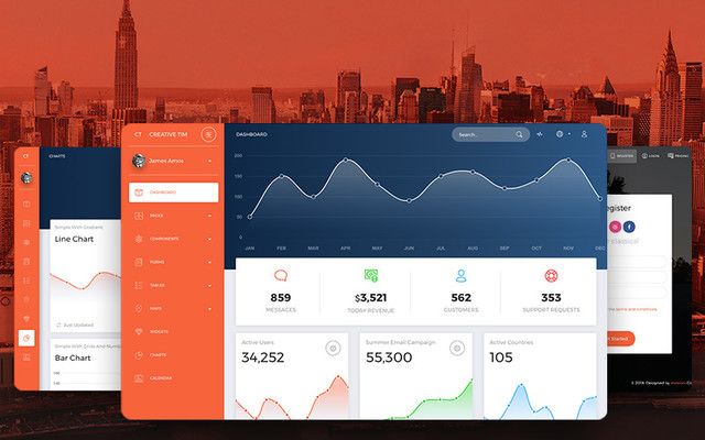 Thumbnail of NOW UI  Dashboard Pro