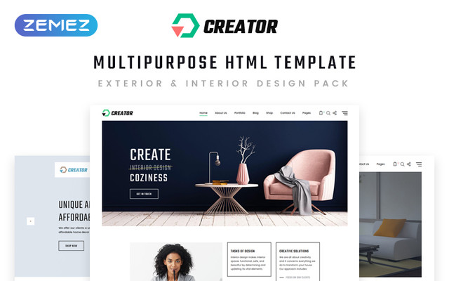 Design Multipurpose thumbnail