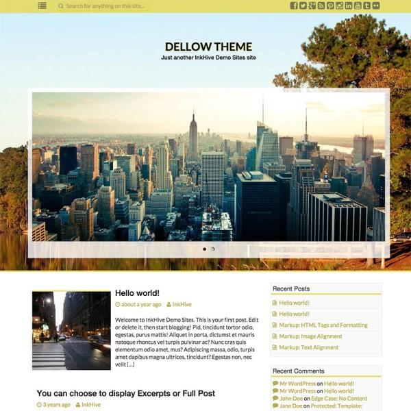 Image for InkNess Bootstrap Theme