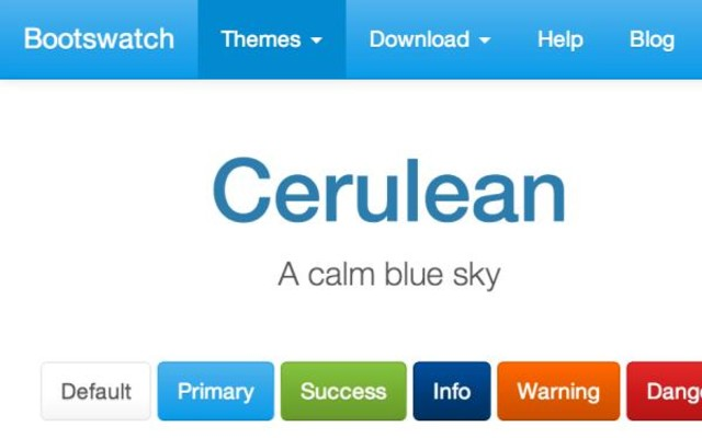 Thumbnail of Cerulean Theme