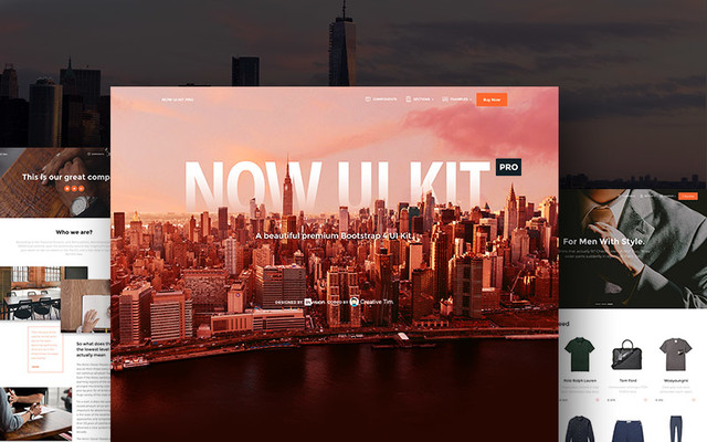 Thumbnail of Now UI Kit PRO by Creative Tim
