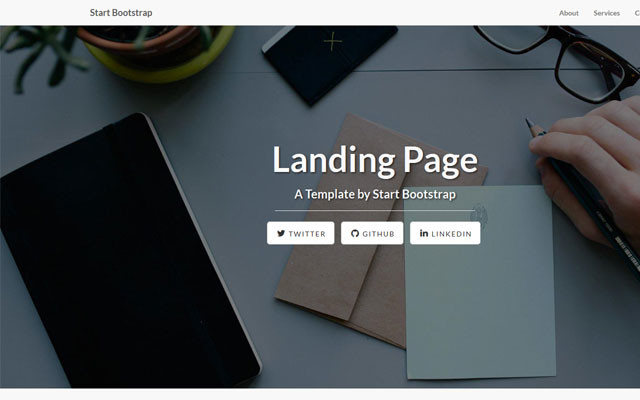 Image for Landing Page Starter