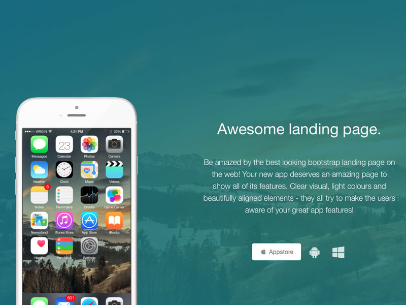 Image for Awesome Landing Page