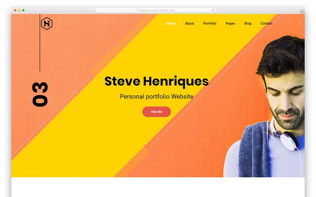 Steve - Colorlib template